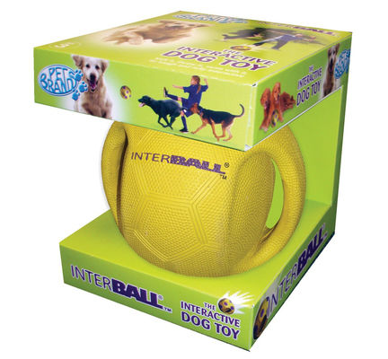 Pet Brands Interball With Swing Tag Label Small Dog Toy - Vital Pet Products - My Pet Gift Box