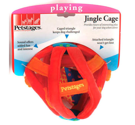 Petstages Jingle Cage Dog Toy - Vital Pet Products - My Pet Gift Box