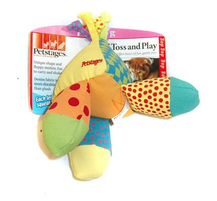 Petstages Tri Toss & Play Dog Toy - Vital Pet Products - My Pet Gift Box