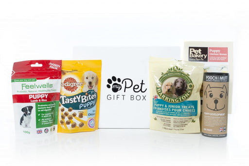 The Puppy Treats Gift Box - My Pet Gift Box - My Pet Gift Box