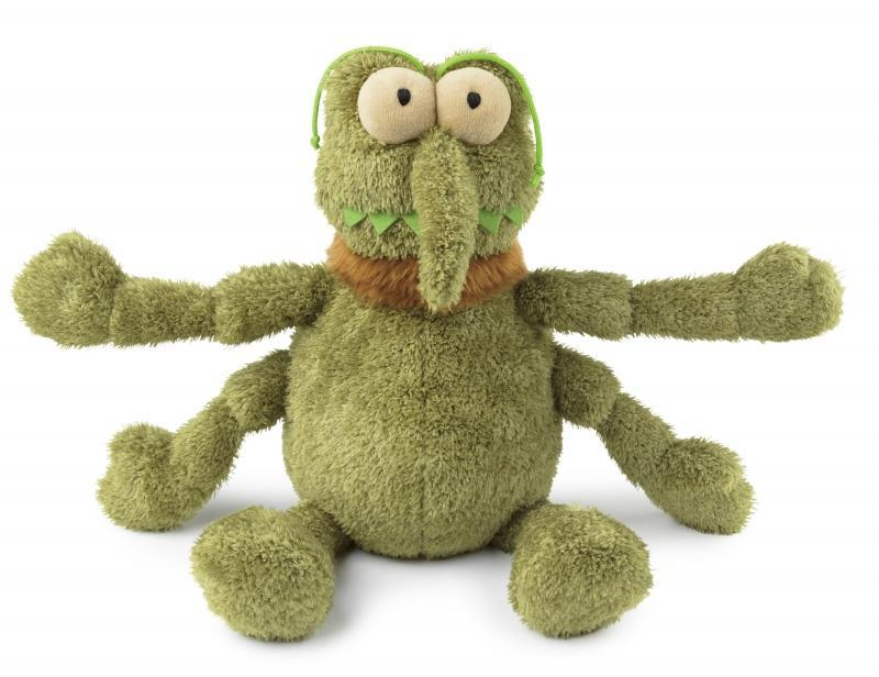 Fuzzyard Scratchy The Green Flea Plush Small Dog Toy - In Vogue Pets - My Pet Gift Box