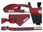 Royal Stewart Tartan Dog Collar - Barkley & Fetch - My Pet Gift Box