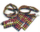 Rainbow Check Dog Lead - Barkley & Fetch - My Pet Gift Box