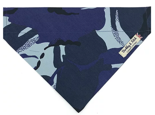 Blue Camo Dog Bandana - Barkley & Fetch - My Pet Gift Box