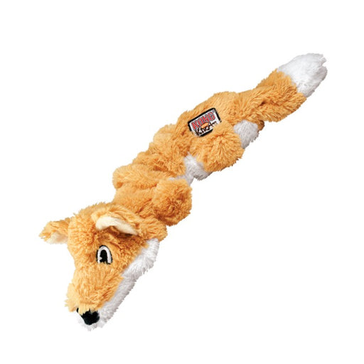 KONG Scrunch Knots Fox Dog Toy