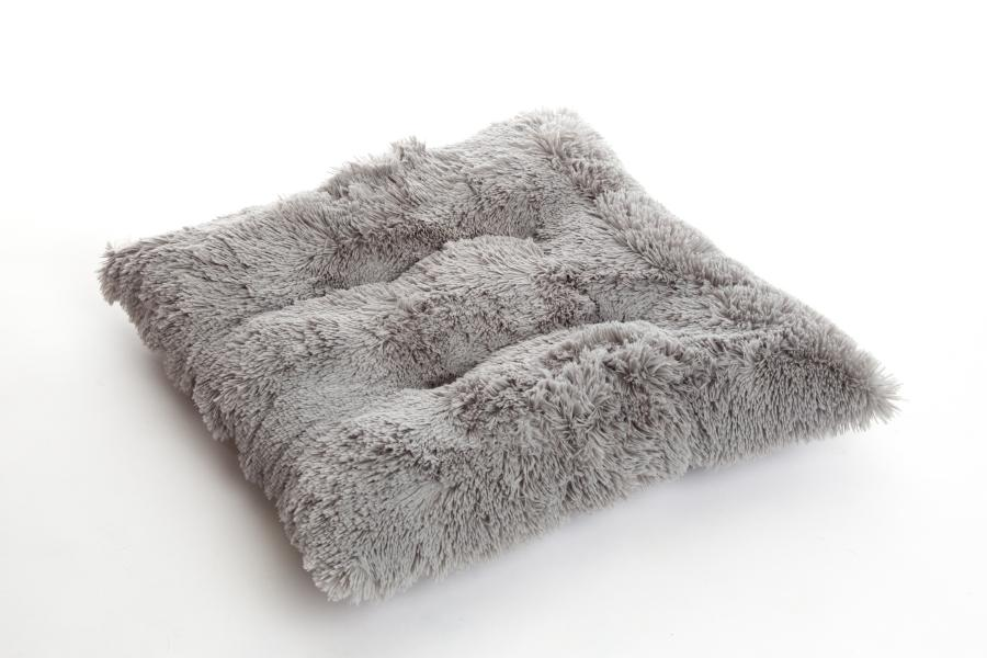 Shaggy Silver Pooch Dog Pad - In Vogue Pets - My Pet Gift Box