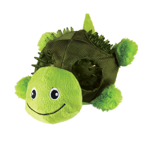KONG Shells Turtle Dog Toy