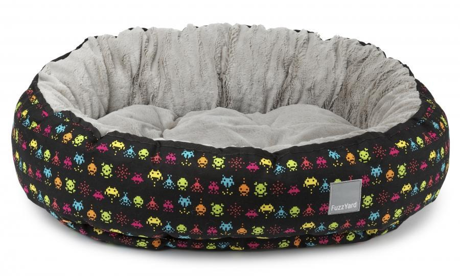Space Raiders Reversible Dog Bed - In Vogue Pets - My Pet Gift Box