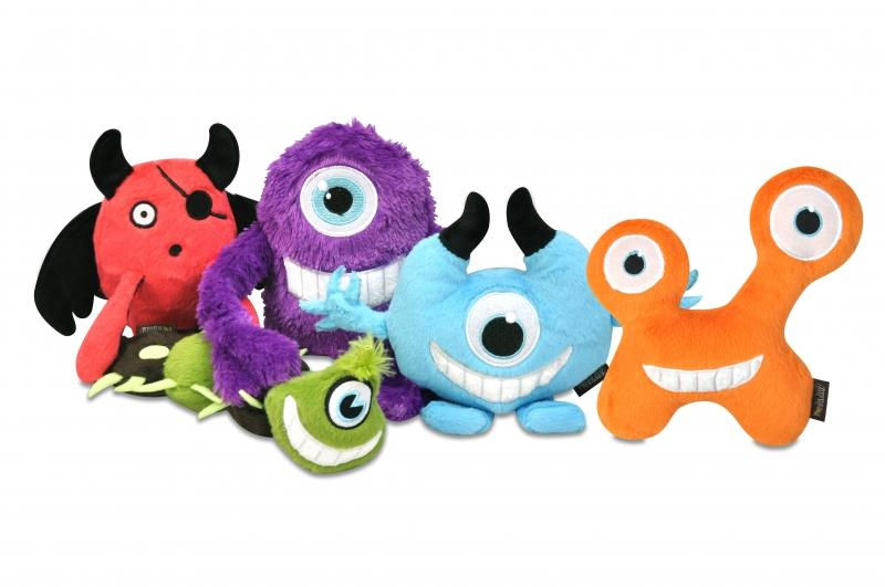 P.L.A.Y T-pee Monster Plush Dog Toy - In Vogue Pets - My Pet Gift Box