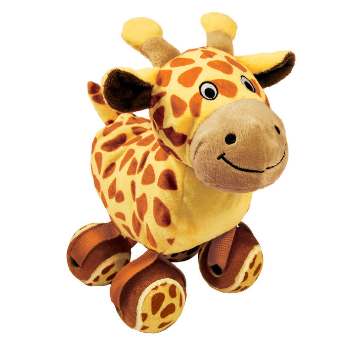 KONG Tennishoes Giraffe Dog Toy - Gor Pets - My Pet Gift Box