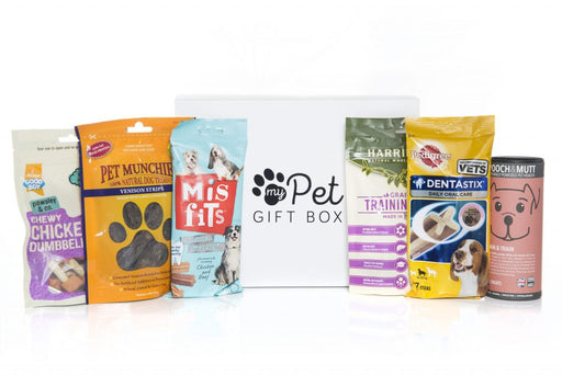 The Good Boy Dog Treats Gift Box