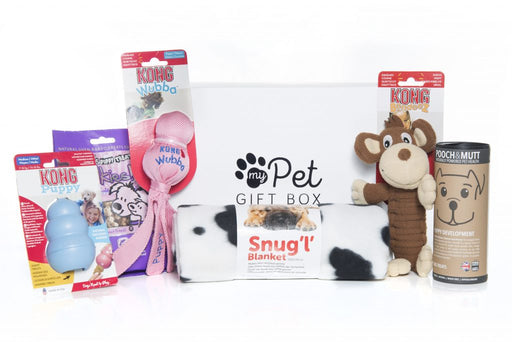 Puppy's First Birthday Gift Box - My Pet Gift Box - My Pet Gift Box