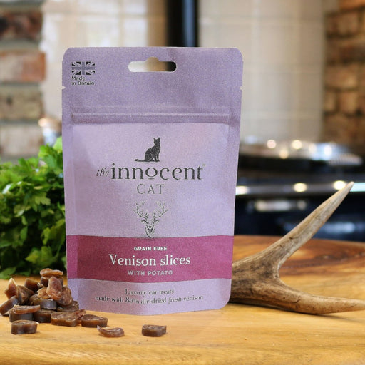 The Innocent Cat Venison Slices with Potato Cat Treats