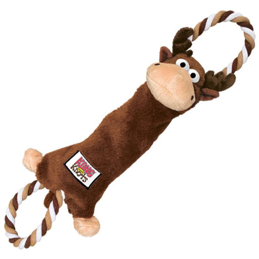 Kong Tugger Knots Moose Dog Toy