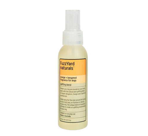 Fuzzyard Uplifting Aromatherapy Mist Orange/Bergamot 120ml - FuzzYard - My Pet Gift Box