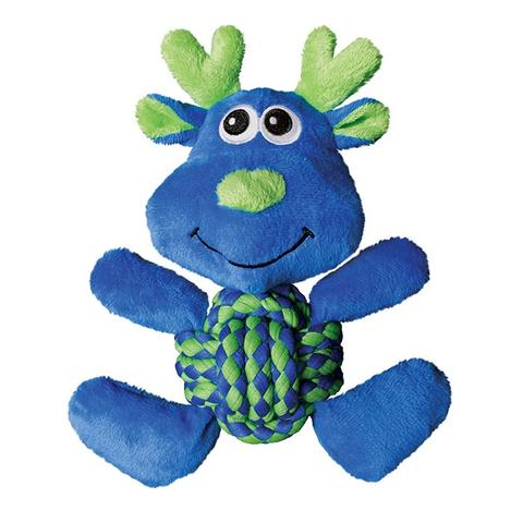 KONG Weave Knots Moose Dog Toy