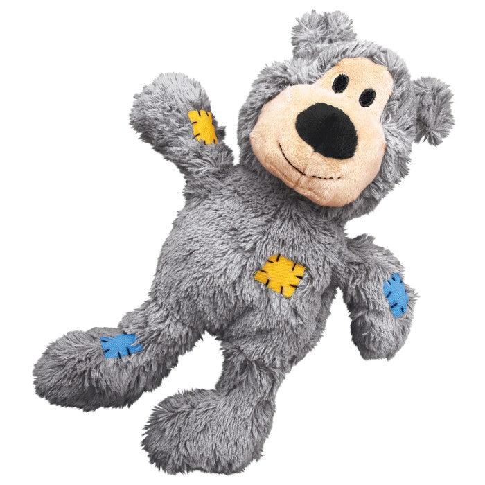 KONG Wild Knots Grey Bear Medium / Large Dog Toy