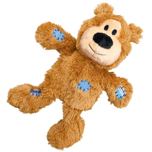KONG Wild Knots Tan Bear Medium / Large Dog Toy