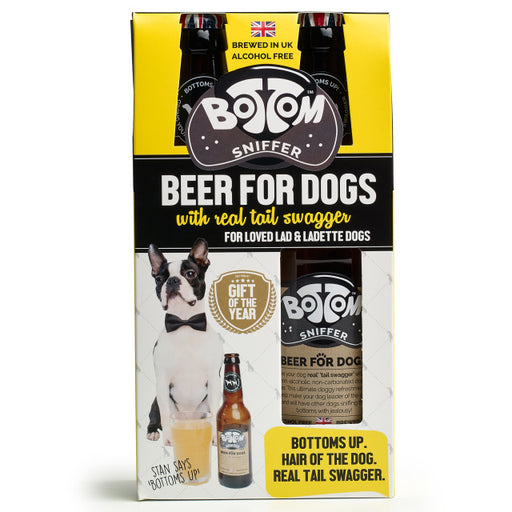 Woof & Brew Bottom Dog Sniffer Beer Gift Set - Woof & Brew - My Pet Gift Box