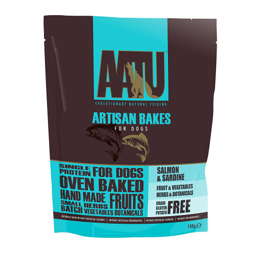 6 x AATU Artisan Bakes Puppy Dog Treats - Vital Pet Products - My Pet Gift Box