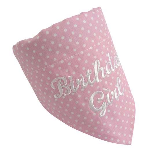 Birthday Girl Dog Bandana - My Posh Paws - My Pet Gift Box