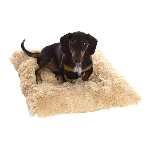 Shaggy Camel Pooch Dog Pad - In Vogue Pets - My Pet Gift Box