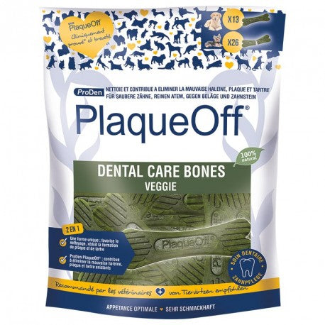 Plaqueoff Dental Bones Vegetable Fusion, 420g - Vital Pet Products - My Pet Gift Box