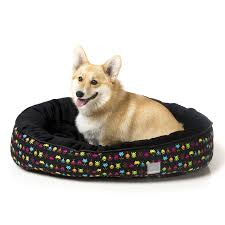 FuzzYard Chalkboard Reversible Dog Bed - In Vogue Pets - My Pet Gift Box
