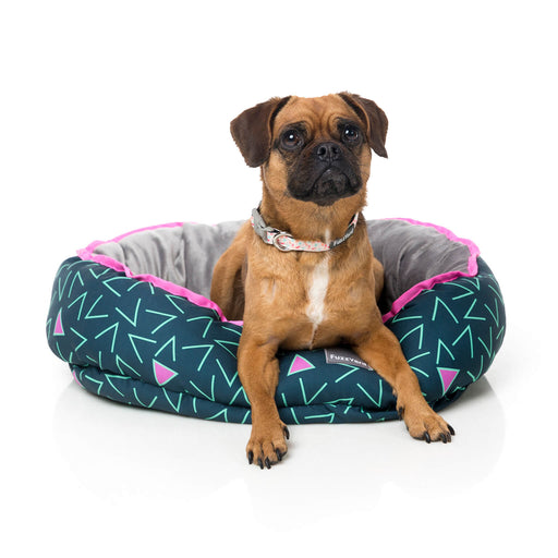 FuzzYard Voltage Reversible Dog Bed - In Vogue Pets - My Pet Gift Box