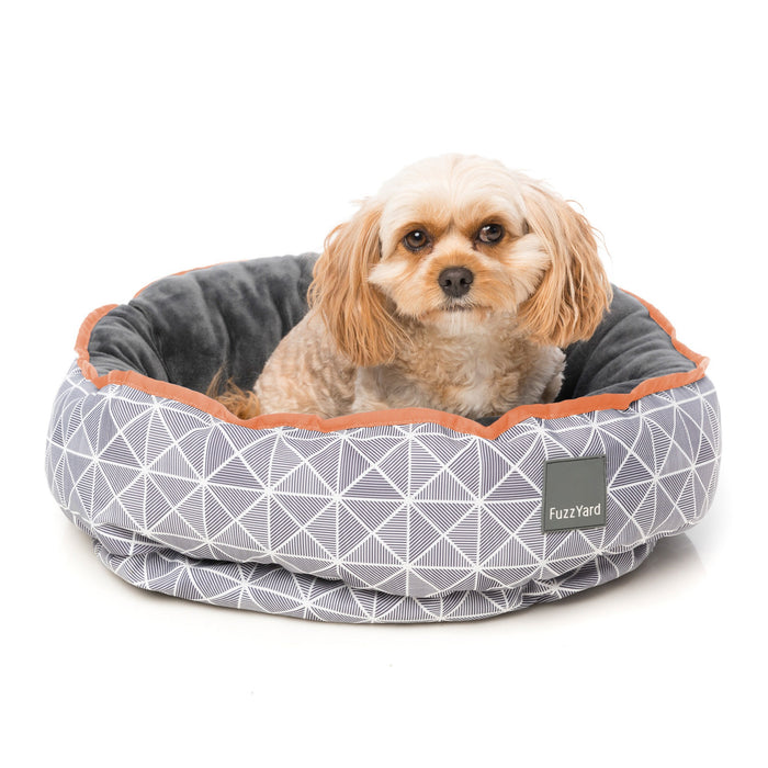 FuzzYard Mid Town Reversible Dog Bed - In Vogue Pets - My Pet Gift Box