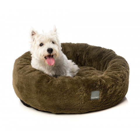FuzzYard Moss Green Eskimo Dog Bed - In Vogue Pets - My Pet Gift Box