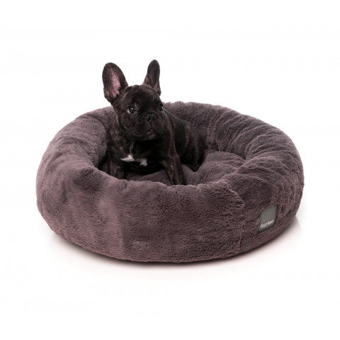 FuzzYard Truffle Grey Eskimo Dog Bed - In Vogue Pets - My Pet Gift Box