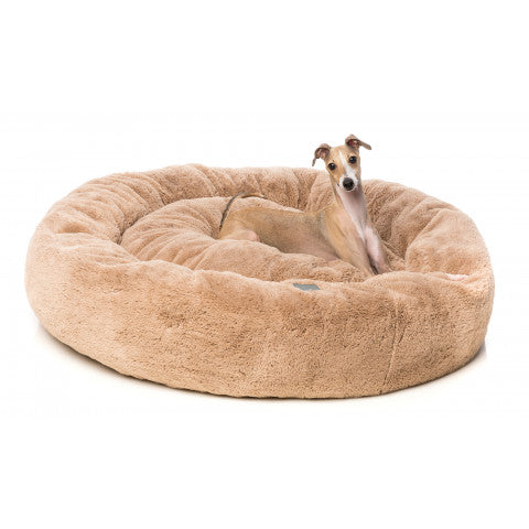 FuzzYard Latte Eskimo Dog Bed - In Vogue Pets - My Pet Gift Box
