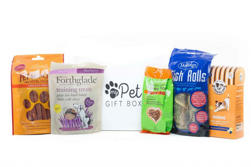 The Grain Free Natural Dog Treats Box - My Pet Gift Box - My Pet Gift Box