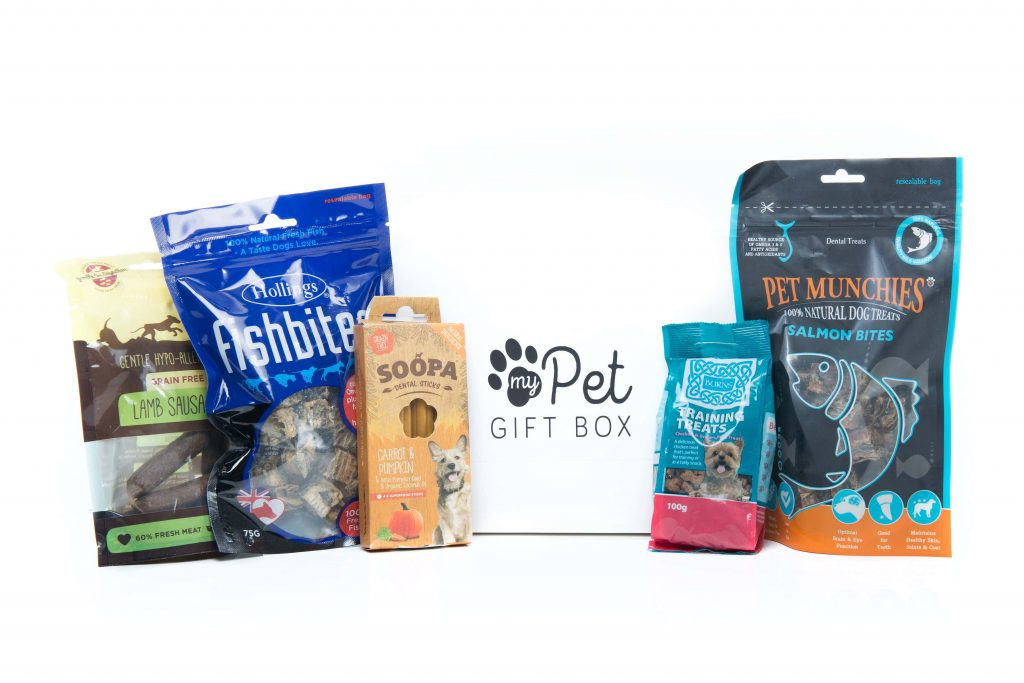 The Hypoallergenic Natural Dog Treats Box - My Pet Gift Box - My Pet Gift Box