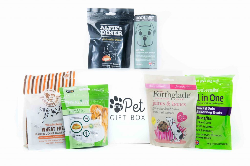 The Joints & Mobility Treats Box For Dogs