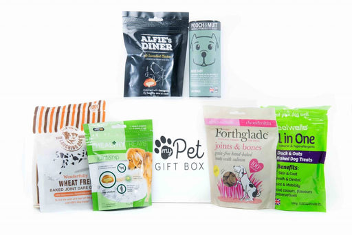 The Joints & Mobility Treats Box For Dogs - My Pet Gift Box - My Pet Gift Box