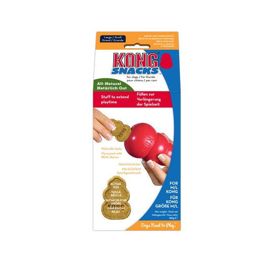 3 x KONG Bacon & Cheese Small Dog Treats - Vital Pet Products - My Pet Gift Box