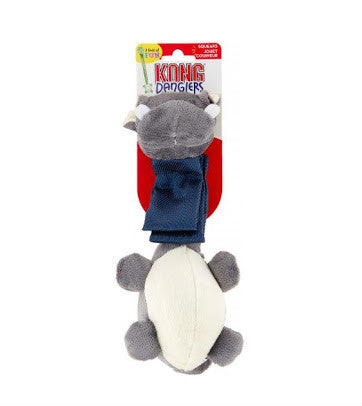 KONG Danglers Hippo Dog Toy