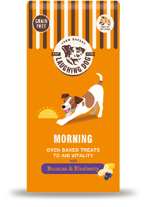 5 x Laughing Dog Morning Natural Dog Treats - Vital Pet Products - My Pet Gift Box