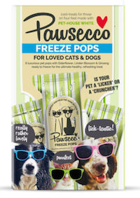 Woof & Brew Pawsecco Freeze Pops For Dogs