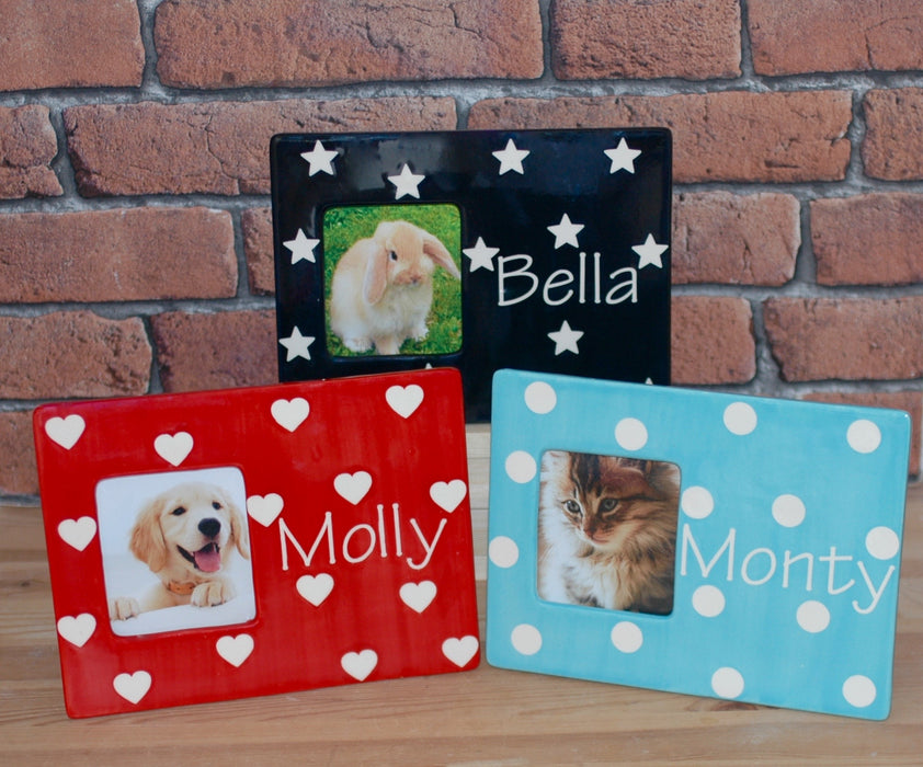 Personalised Pet Picture Frame - Crazy Fur You - My Pet Gift Box