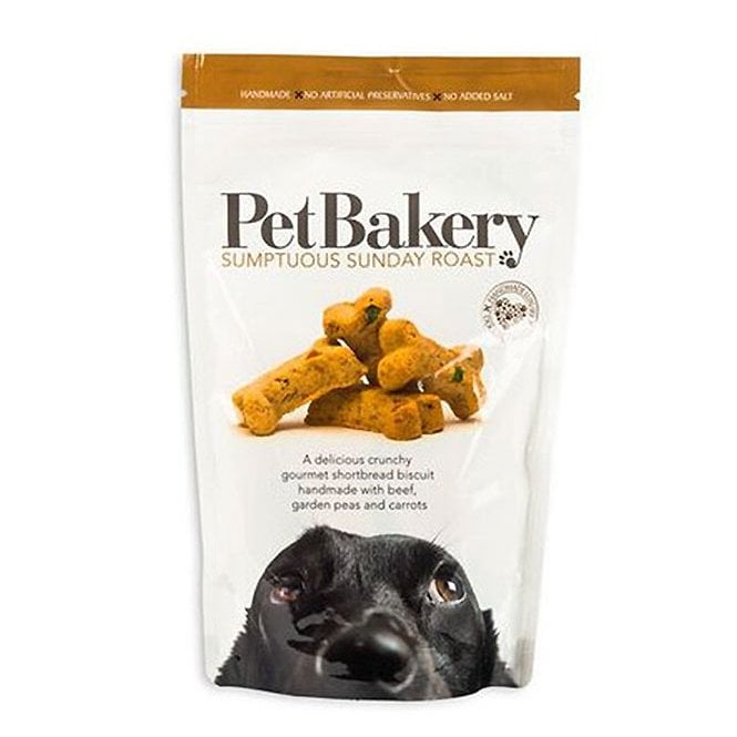 Pet Bakery Sumptuous Sunday Roast Treats Dog Treats 190g - Pet Bakery - My Pet Gift Box