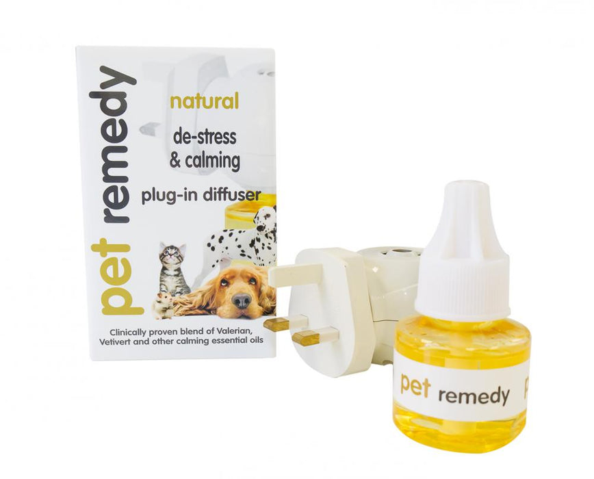Pet Remedy Plugin Diffuser 40ml - Pet Remedy - My Pet Gift Box