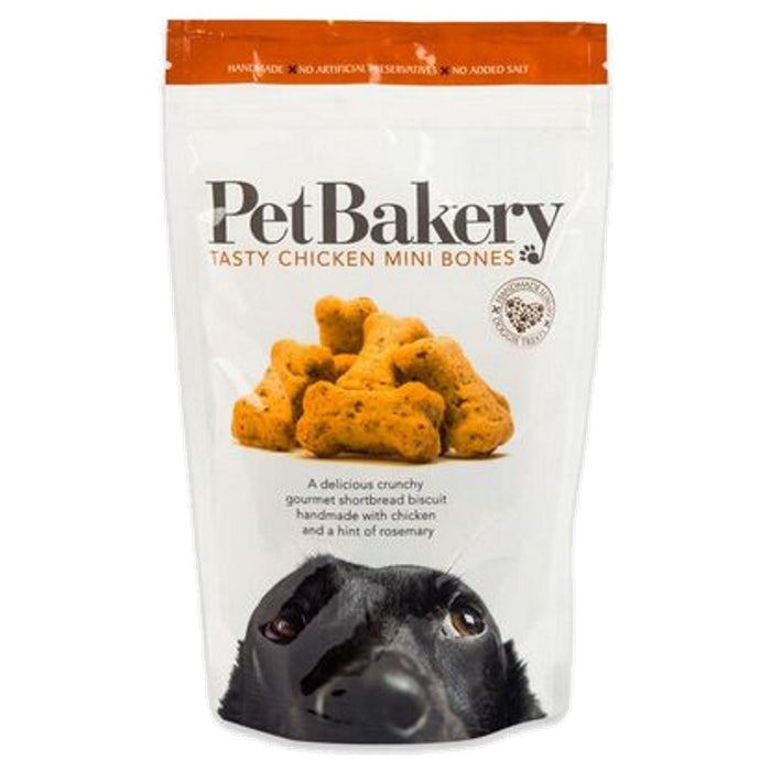 Pet Bakery Mini Chicken Bones Dog Treats 190g - Pet Bakery - My Pet Gift Box