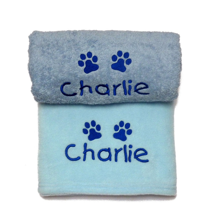 Personalised Puppy Boy Gift Set - My Posh Paws - My Pet Gift Box