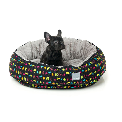 FuzzYard Space Raiders Reversible Dog Bed - In Vogue Pets - My Pet Gift Box