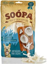Soopa Coconut Soopa Dog Treats 100g - Soopa - My Pet Gift Box