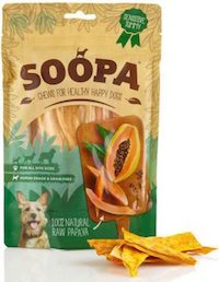 Soopa Papaya Dog Treats 85g - Soopa - My Pet Gift Box
