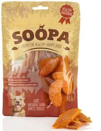 Soopa Sweet Potato Dog Treats 100g - Soopa - My Pet Gift Box